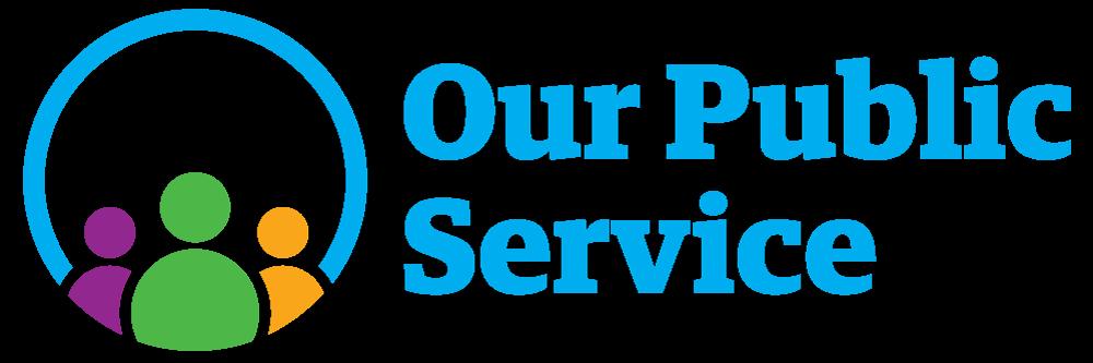 Our Public Service 2020 logo