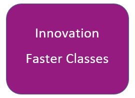 Innovation Faster Classes Button