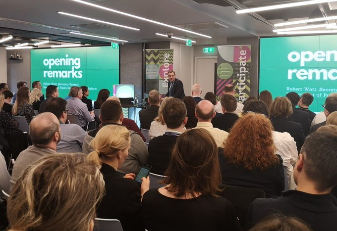 Innovation Network Meeting - full house at EY wavespace