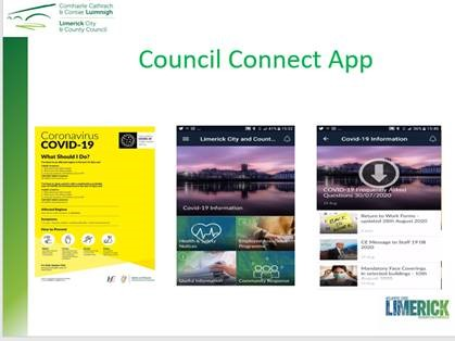 Screenshot of Limerick City and Council Council Connect App