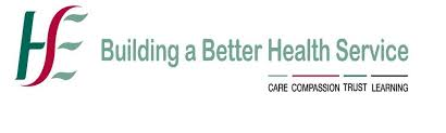 HSE Building a better health service. Logo with the words care, compassion, trust, learning
