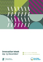 Image of Innovation Week poster with blank space for own events