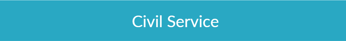 Civil Service Banner