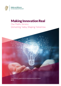 Cover page of 'Making Innovation Real, the Public Service Innovation Strategy